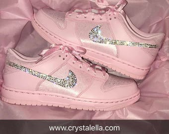 Crystal Nike Dunk in Prism/Pink