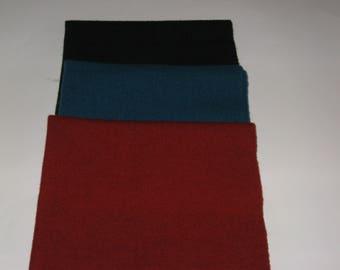 New Shop  *SALE*  Rug Hooking wool, wool applique, penny rug 3/8 yard