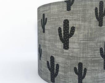 Black Cactus lampshade