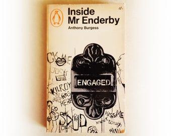 Anthony Burgess - Inside Mr Enderby - Penguin vintage paperback book - 1966