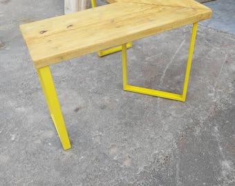 industrial desk etsy. Black Bedroom Furniture Sets. Home Design Ideas