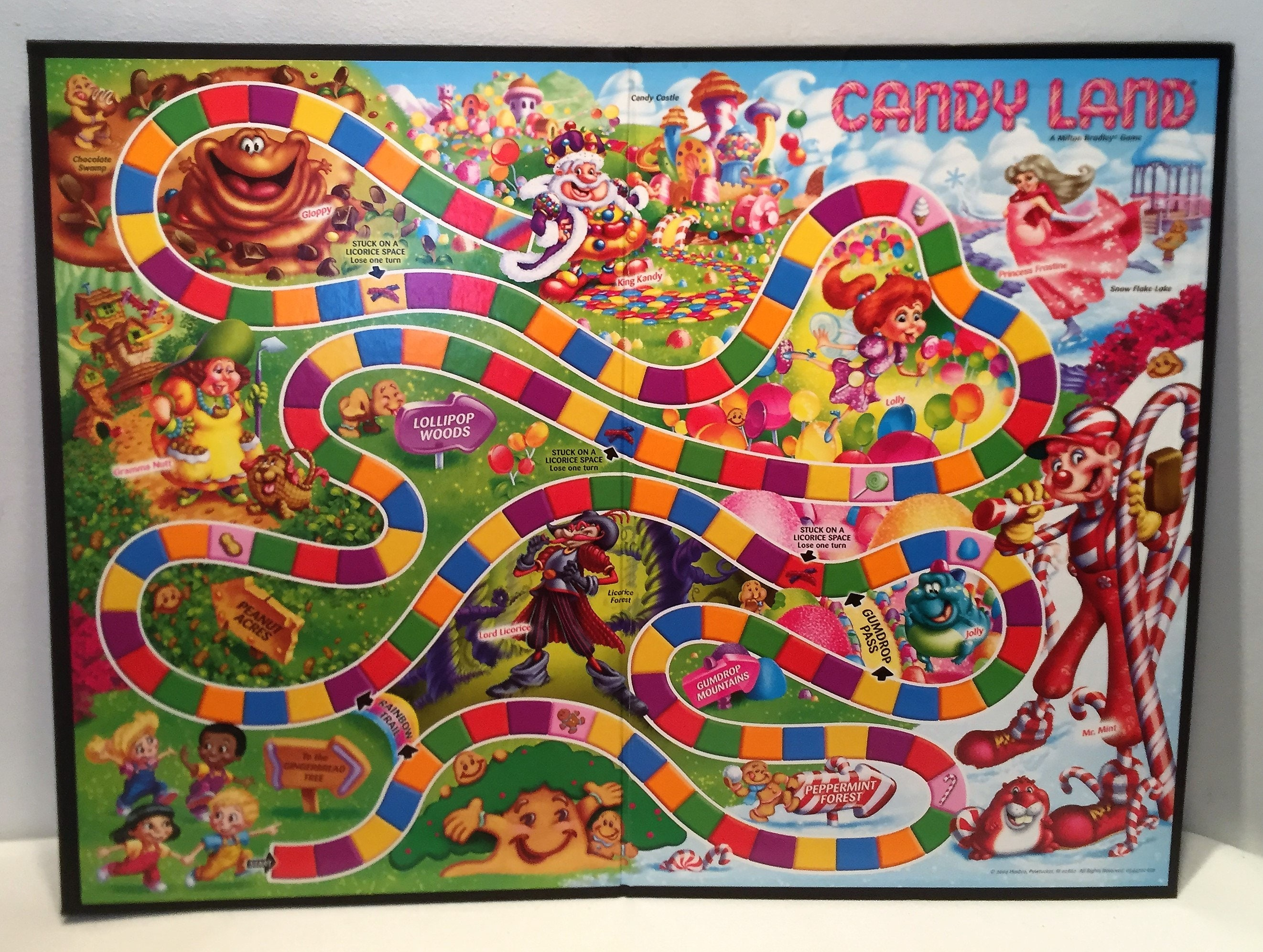Playing Candyland Online