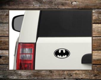 Batman Car Decal /  12 Colors / Laptop Decals / Car Decals / Computer Decals / Window Decals