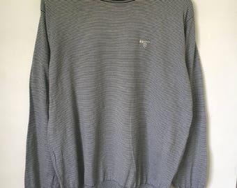 Retro Barbour thin knit jumper, size S/M