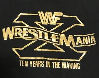 Rare Wrestlemania X