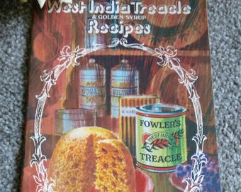 Vintage Fowler's West India Treacle & Golden Syrup Recipe Book.