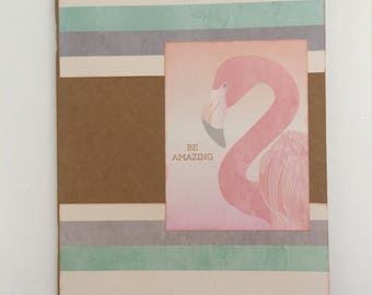 Decorated Notebook - Be Amazing (N08)