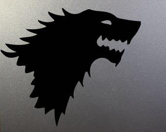 Game of Thrones Vinyl Decal House Stark
