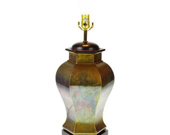 Vintage Brass E. F. Chapman Table Lamp