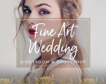 Fine Art Wedding Lightroom Presets & Photoshop Filters for Photographers