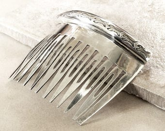 Vintage Sterling Silver Hair Comb - Sterling Silver Comb - Taxco Hair Comb - Mexican Hair Comb - Vintage Taxco Comb - Roca Fine and Dandy