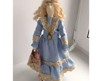 Tilda Doll Textile Doll Tilda Handmade Doll Cloth Doll Tilda doll Louise Rag Doll