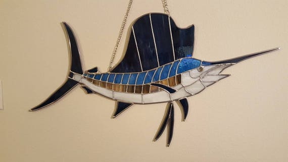 Stained Glass Sailfish