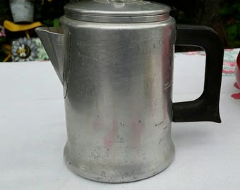 Aluminum Coffee Pot Etsy