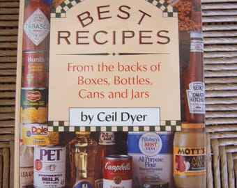 Best Recipes From the Backs of Boxes,Bottles,Cans and Jars,Ceil Dyer