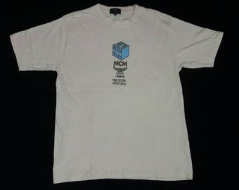 Vintage 1990's MCM Mode Creation Munchen T-Shirt Made in Japan