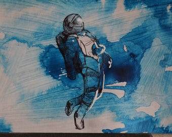 """The painting """"Weightlessness"""""""