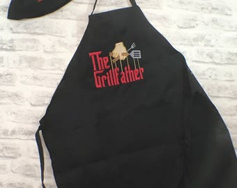 Cooking Apron and Chef Hat set