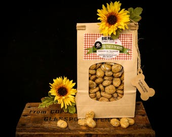 Ships FREE! Sunflower Surprise Dog Treats, Gourmet, Homemade Dog Treats, Dog Biscuits, Gift Dog Lovers, Healthy Ingredients, Fresh Baked
