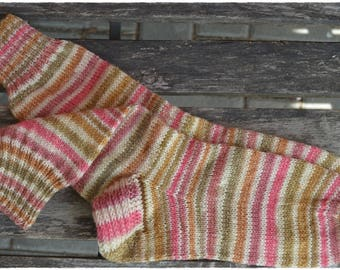 Striped socks women's size UK 4,5-6, US 7-8