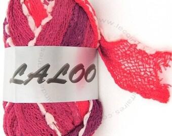 WOOL RUFFLES WITH TASSEL LALOO4 100GR RED / MAROON 21