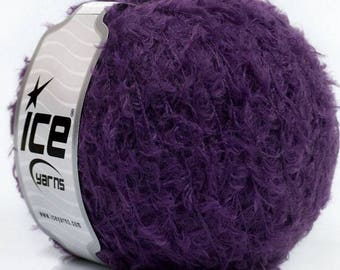 WOOL ICE PURPLE 50G FINGERING 5 //55 LAGUNA