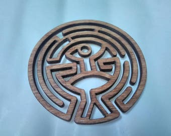westworld coaster | the maze | hand made | unique gift | gift for her| wooden coaster | home decor | tv show | coaster set | gift | coasters