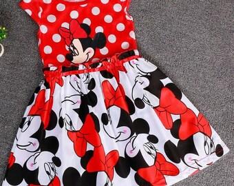 Girls Minnie Tutu Dress