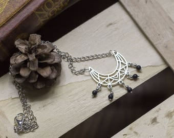 "gorgeous bib necklace ""blackboho"" boho - Bohemian - magic - romantic - trend"