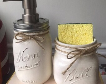 Mason Jar Soap Dispenser Sets
