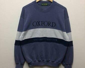 Rare!! Oxford golf club sweatshirt
