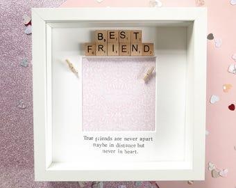 Best Friend Gift | Best Friends | Gift for Best Friend | Gift for Her | Bridesmaid Gift | Gift for Friend | Birthday Gift | Friend Frame