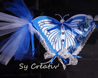 GUESTBOOK for wedding Butterfly - handmade