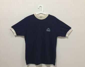20% off Vintage!!! KAPPA TSHIRT, pocket logo, casual, vintage, rare