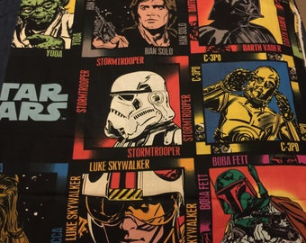 Star wars boba fet hans solo  fabric material sewing by the yard material new