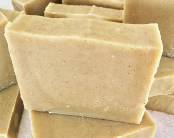 Natural Lemongrass SOAP, handmade olive oil, biodegradable and scented with essential oils based