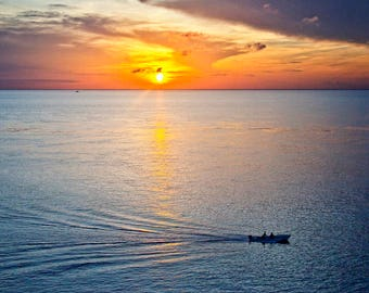 Arrow_Sunset_Landscape Photography_Cloud_Ocean_Fishing Boat