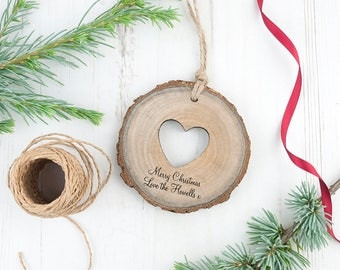 Rustic Wooden Heart Decoration
