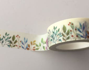 Herbaceous Border Washi Tape