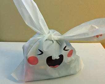 "Small bag ""Knuffiger Bunny"" - 10 pieces - children birthday"