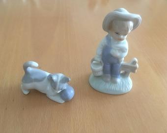 Vintage porcelain figurine Porzellanfigürchen collectible