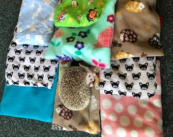 Mystery Hedgehog Pouch/Snuggle Sack