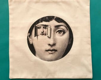 "Fornasetti ""Julia"" Pillowcase"