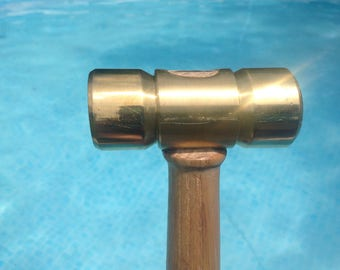 Brass Hammer with Ash Handle
