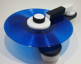 VinylBug - manual vinyl record cleaning machine - White Edition