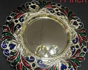 Decorative Puja plate