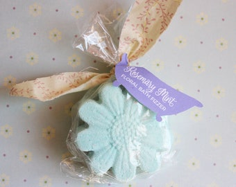 Rosemary Mint Floral Bath Fizzer