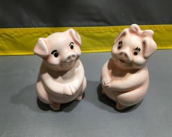 Pigs salt and pepper
