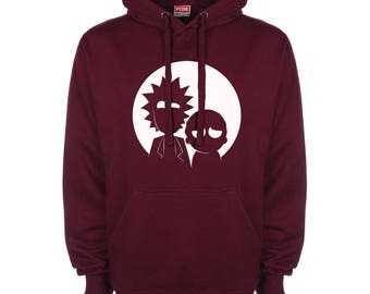Rick and Morty - Silhouette Hoodie