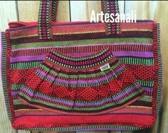Mexican hand woven hippie Bohemian roomy/